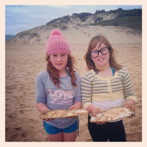 the cuttlefish collectors Dacey and Billie