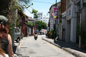 The streets of George Town