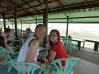 Great find and great view with great pancakes and juices @ Chuang Tha Beach