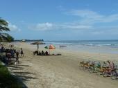beachside at Chuang Tha Beach