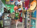 Shopping in Chuang Tha Beach